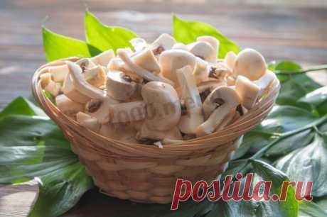 Как заморозить свежие шампиньоны рецепт с фото пошагово - 1000.menu