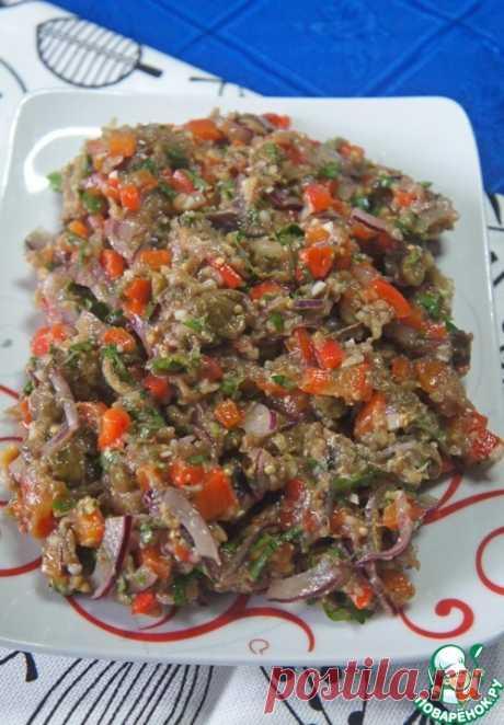 Острая закуска из баклажанов и перца – кулинарный рецепт
