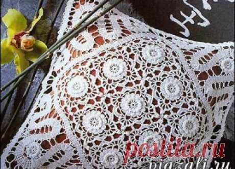 Вязание крючком комбинированное с тканью: схемы, описание, видео мк