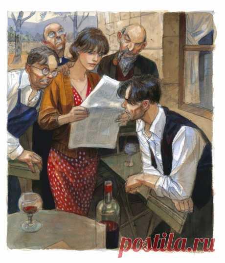 Друзья, если вы уже успели прочитать графический роман Жан-Пьера Жибра «Полет ворона» (mif.to/VCLJr), то наверняка увидели в конце книги несколько страниц с эскизами и большими иллюстрациями. Делимся несколькими из них и рассказываем об авторе этого графического романа. Жан-Пьер Жибра — французский автор и иллюстратор комиксов. Родился 14 апреля 1954 года в Париже. В 70-х он получил степень бакалавра философии, затем учился графическому дизайну и некоторое время работал в рекламе. Лишь во…