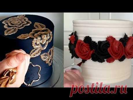 Торты||Топ 8 фантастических украшений тортов.Идеи для милых дам.Cake Top8 fantastic cake decorations