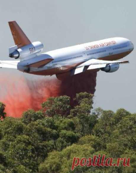 DC-10 fire bomber AIRCRAFT | aircraft