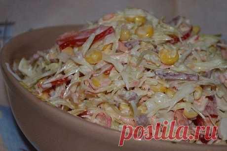 Как приготовить салат семёнова - рецепт, ингредиенты и фотографии