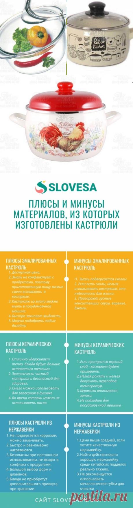 Советы, как выбрать кастрюлю - простые советы на портале slovesa.in.ua