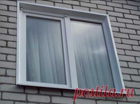 5 способов сделать наружные откосы для пластикового окна - Подробная инструкция отделки Какой материал выбрать для отделки наружных откосов пластикового окна? Плюсы и минусы. Пошаговые инструкции по отделке различными материалами.