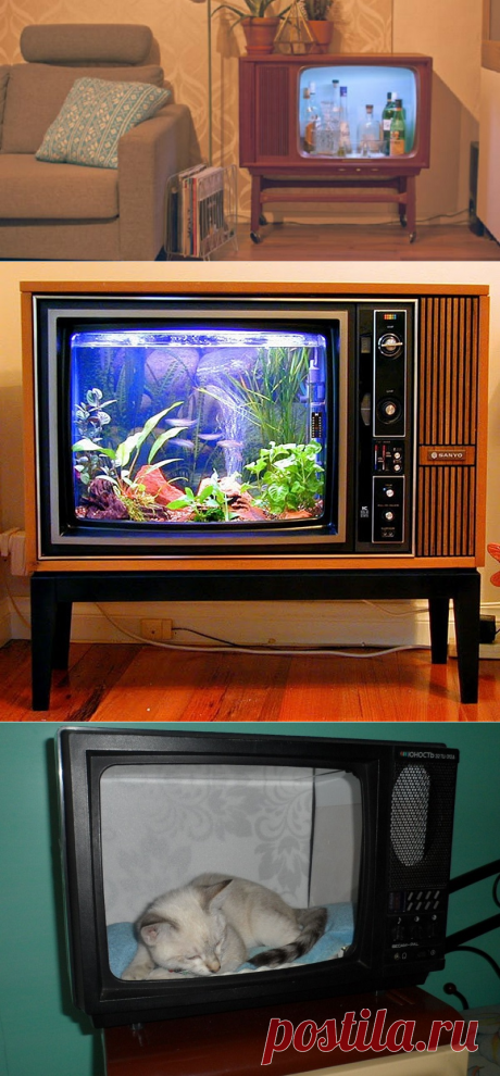 Что сделать из старого телевизора