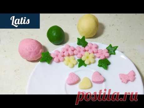 Сладкое тесто в домашних условиях (Мастика) от Latis!