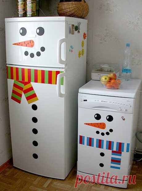 Como adornar la casa hacia el nuevo año, adornamos el apartamento hacia el nuevo año | Маманя.ru - el sitio para los padres