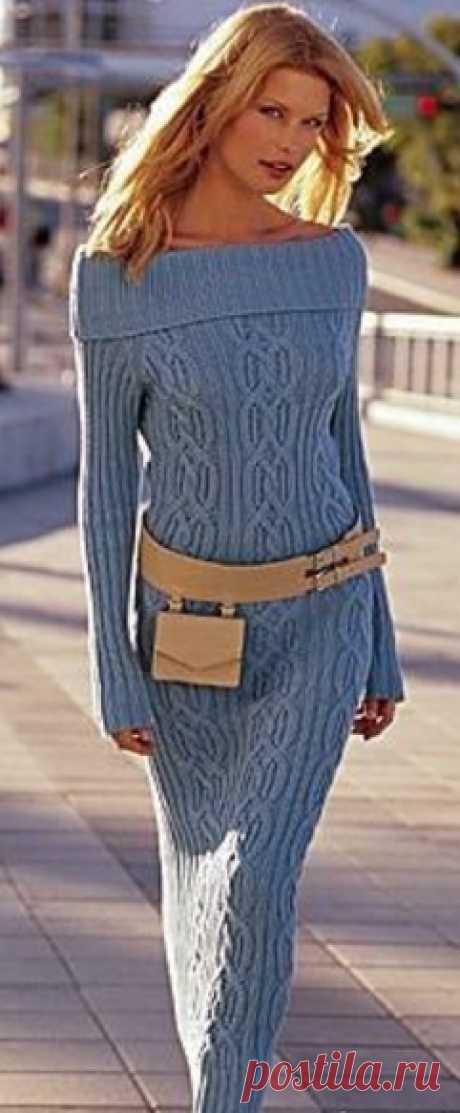 Платье кельтскими узорами схемы. Кельтские узоры вязание спицами схемы  