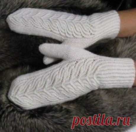 """Принцесса&quot mittens; - Knitting (schemes on all models)"
