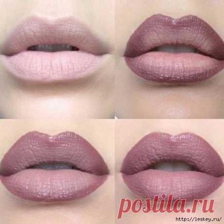 Неcколько de los consejos simples para el maquillaje de los labios.