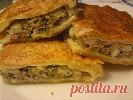 Кубите - татарский пирог с картошкой и сыром