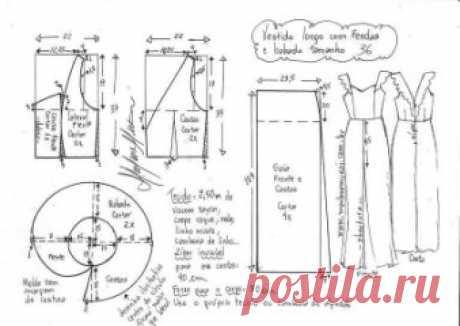 Платье  #выкройка #выкройкиплатьев #шитье #рукоделие