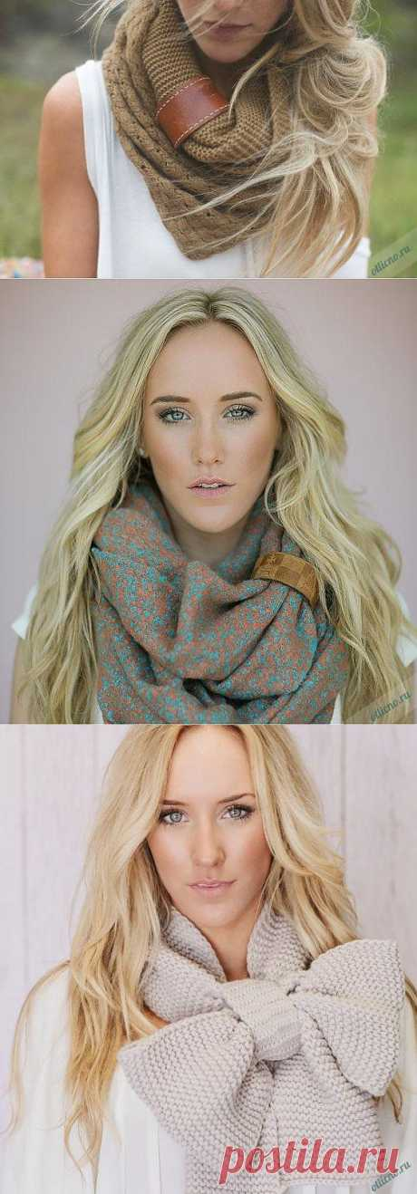 Оригинальная идея украшения шарфа или платка. 10 вариантов | Отлично! Школа моды, декора и актуального рукоделия