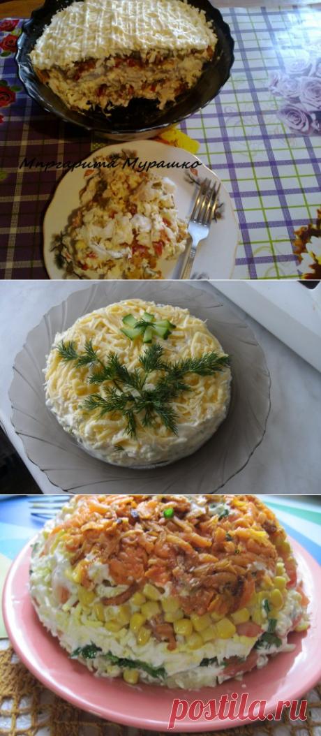 СКОРО НОВЫЙ ГОД! Подборка салатов