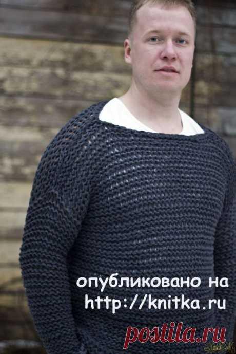 Свитер – кольчуга спицами. Работа Елены Петровой – ПоВяЖу, Вязание для женщин