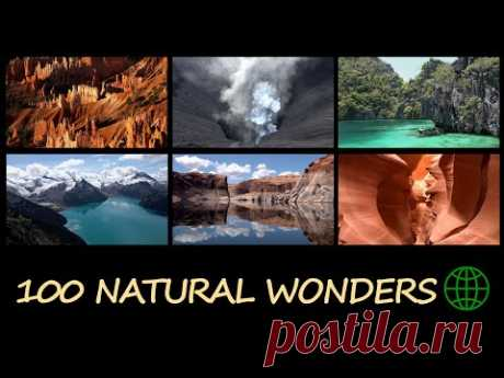 100 Natural Wonders of the World in 4K Ultra HD