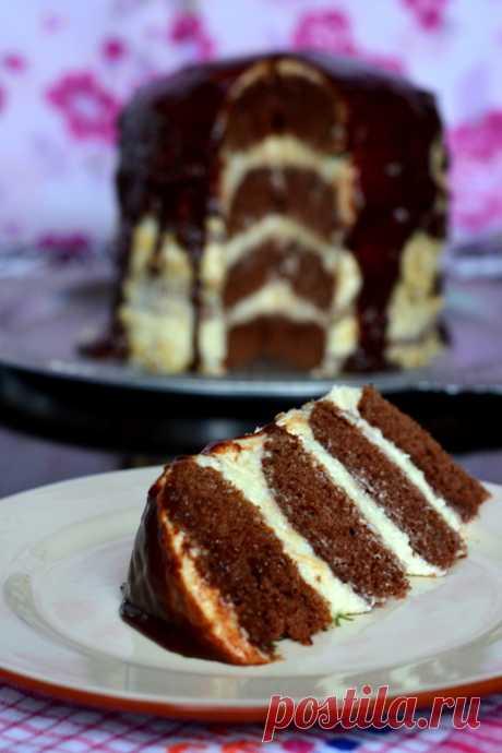 """Шоколадный торт """"Колдунья"""""""