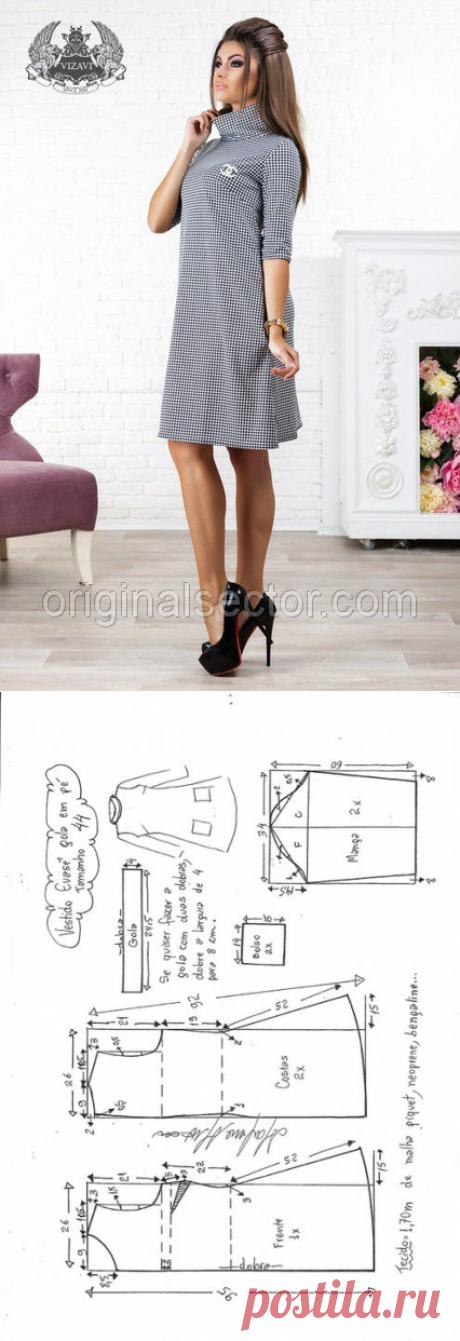 Платье в стиле Coco Chanel. Выкройки (Шитье и крой) – Журнал Вдохновение Рукодельницы