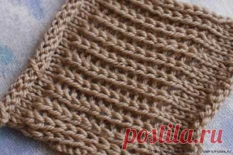 Чудесный комплект спицами – шапка и шарф (Вязание спицами)