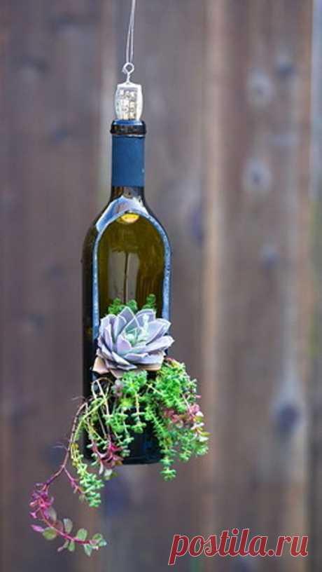 Riciclo bottiglie di vetro: tante idee originali per la casa!