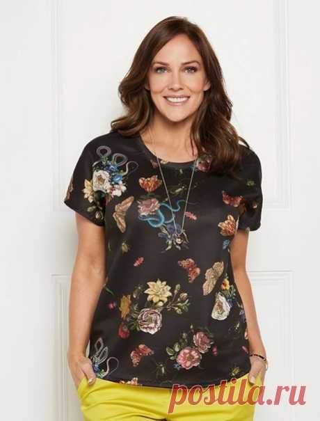 ....Женская блузка ....  цельнокроеный рукав, выкройка хорошая р-р XS-XL таблица размеров в дюймах https://vk.com/photo-164367695_457311551?z=photo-1643..