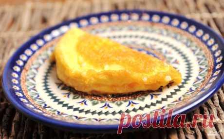 Омлет с сыром - пошаговый кулинарный рецепт с фото на Повар.ру