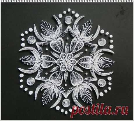 Black & White Mandala. crafts Quilling designs, Quilling, Paper quilling patterns в Яндекс.Коллекциях