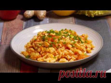 3 популярных блюда из Китая 1.Курица с арахисом по-китайски 2.Помидоры с яйцом (яичница болтунья) 3.Битые огурцы