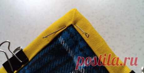 Окантовка лоскутного изделия пошагово и подробно.