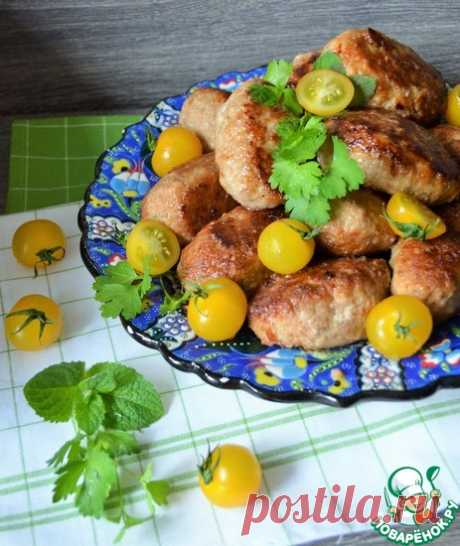 Котлеты из свинины Кулинарный рецепт