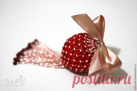Изящное украшение для новогодней елки своими руками