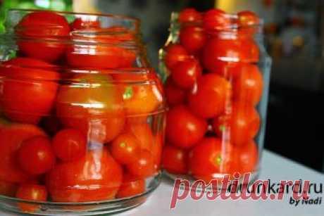 Бабушкины маринованные помидоры | Поварёшки