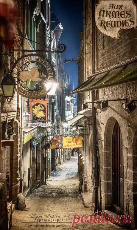 Mont St Michel, Normandy, France  |  Pinterest
