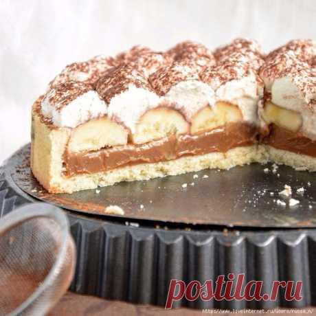 """Шикарный вкусный торт. Настоящий """"Баноффи пай"""""""