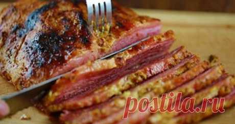 Как запечь целый кусок мяса в духовке. Суперская подсказка и для опытной, и для молодой хозяйки. ...