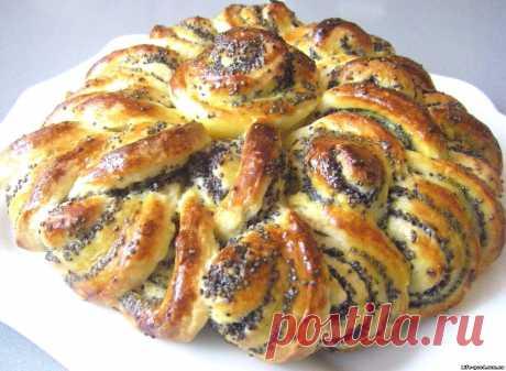 Ажурный пирог с маком - как приготовить, рецепт с фото — Кулинарный блог Life Good