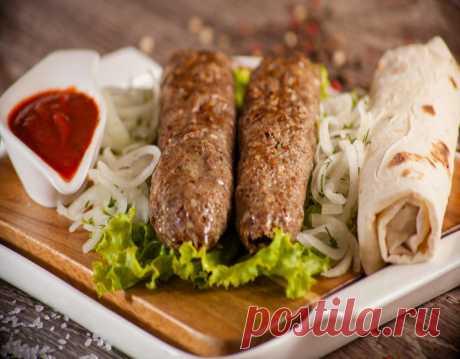 Люля-кебаб на мангале — рецепт приготовления