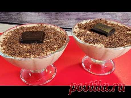 Вкуснейший Десерт за 30 минут. Ешь Худей и Балдей, для тех кто не хочет Поправиться.