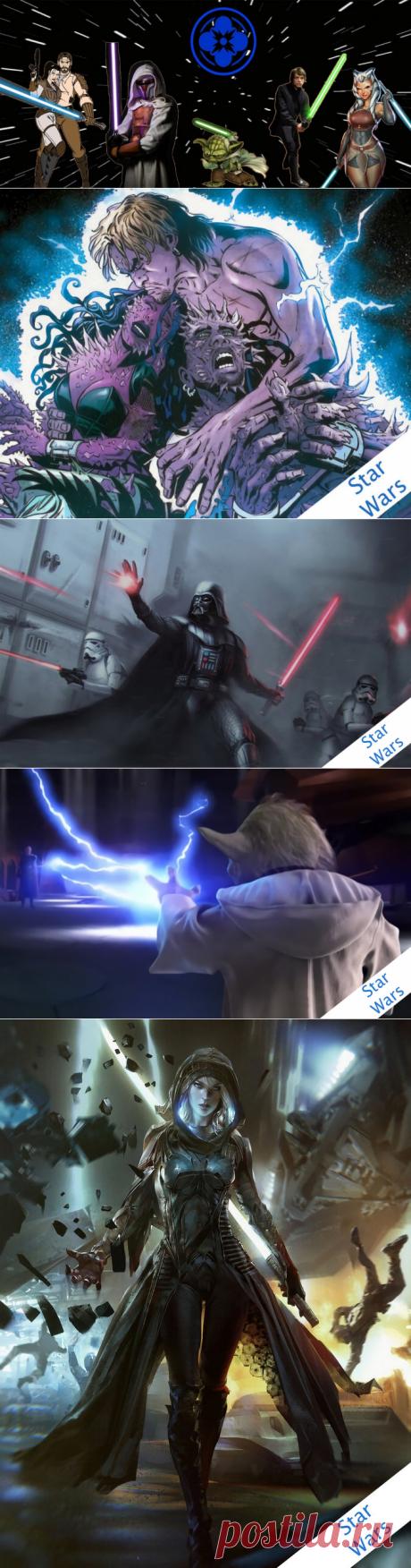 """Редкие, но мощные техники светлой стороны силы Star Wars   Таверна """"42""""   Яндекс Дзен"""