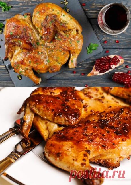 Цыпленок табака(тапака) - домашний грузинский рецепт легендарного блюда - be1issimo.ru