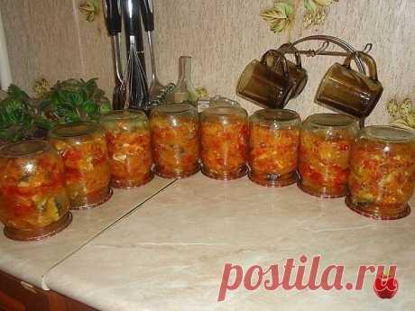 Скумбрия с овощами. Заготовки впрок от Перчинки - Фото