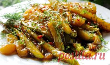 Невероятно вкусная закуска из кабачков за 10 минут | Рецепты тёти АСИ | Яндекс Дзен
