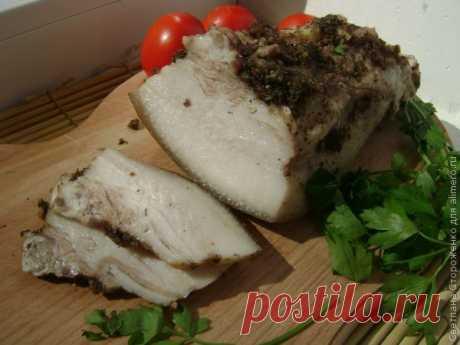 Щековина свиная вареная / Рецепты с фото