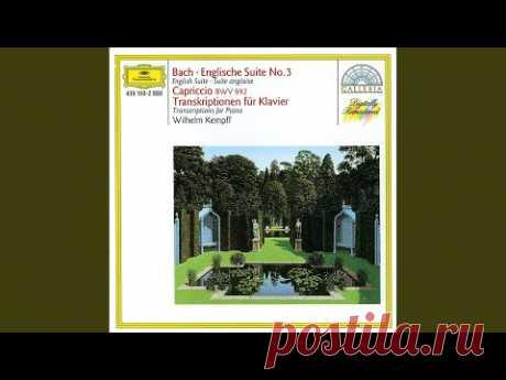 Handel: Menuett in G minor - Arranged by Wilhelm Kempff - YouTube