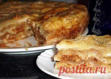 Самый ленивый яблочный пирог...!!! - Простые рецепты Овкусе.ру