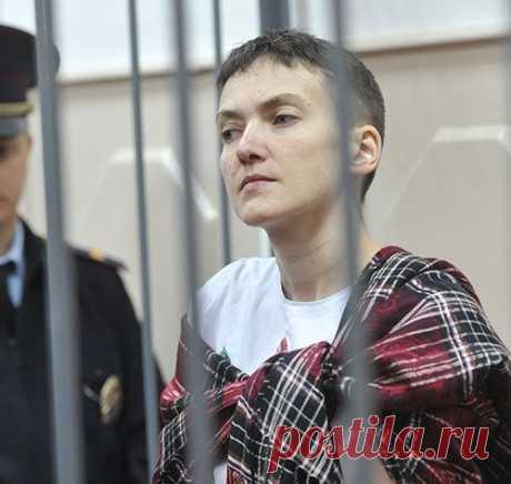 Надежда Савченко вылетела на Украину
