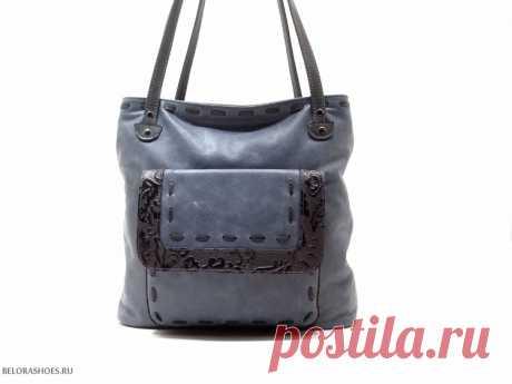 Сумка-рюкзак женская Трио 6 Удобная сумка из натуральной кожи с двумя независимыми отделениями и возможностью одевать как рюкзак