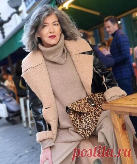 Что носить этой зимой - пуховик или дублёнку: 15 классных образов для дам элегантного возраста | Школа стиля 50+ | Яндекс Дзен