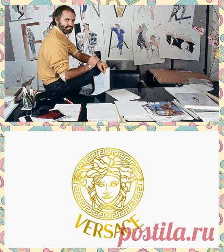 Чьё лицо стало протатипом символа Версаче | Модный Интерес | Яндекс Дзен